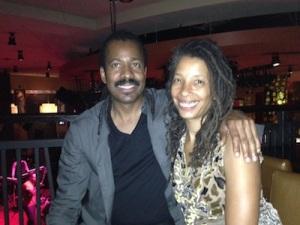 After Tchiya's gig at Chicago hard Rick Cafe July, 27 2013