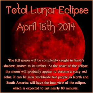Blood Red Full Moon Lunar Eclipse Energy Work