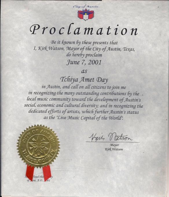 Tchiya Amet Day