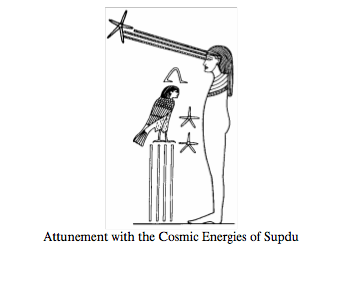 Aign with Cosmic Energies of Sopdu