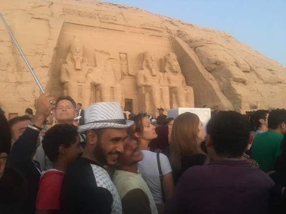 Outside Abu Simbel
